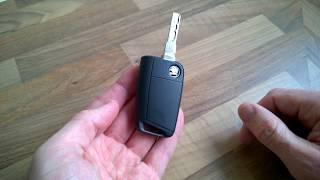 Cambiare batteria chiave Skoda Octavia 3