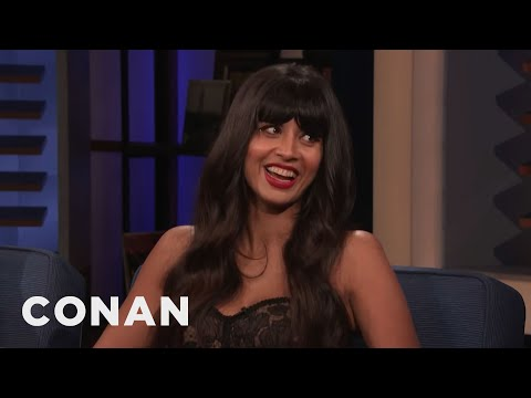 "Jameela Jamil Is The Fifth Impractical Joker On ""The Misery Index"" - CONAN on TBS"