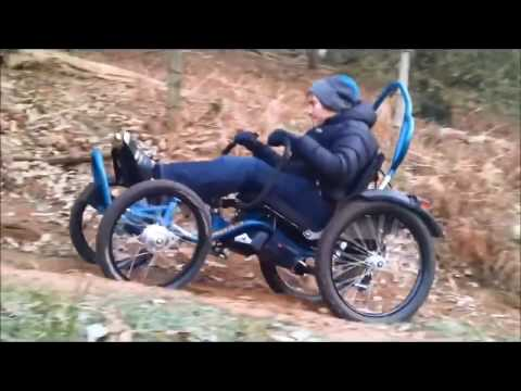 Frosty ride on Boma All Terrain wheelchair.