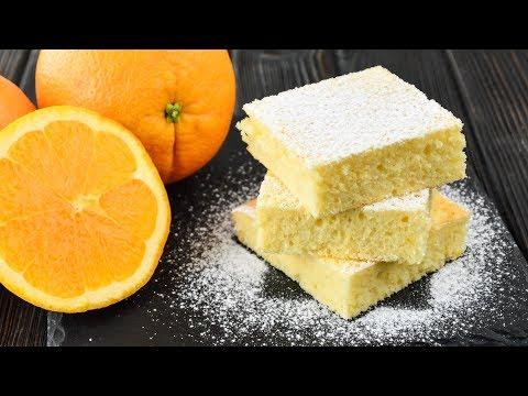 ПРОСТОЙ апельсиновый КЕКС ☆ Нежный и ОЧЕНЬ ароматный