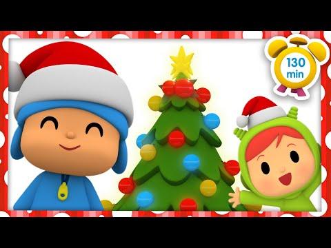 🎄 POCOYÓ en ESPAÑOL - El Arbolito de Navidad [130 min]   CARICATURAS y DIBUJOS ANIMADOS para niños