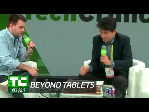 The Beyond Tablet Makes Smart Games Tangible at CES 2017