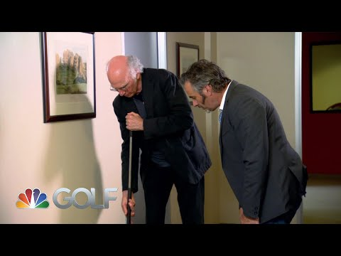Feherty Shorts: Indoor putting with Larry David | Feherty | Golf Channel