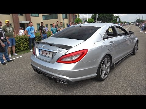 700HP RENNtech Mercedes-Benz CLS63 AMG! LOUD Revs, Crackles and Accelerations!
