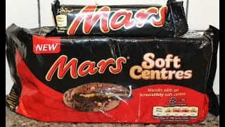 Comparing Mars Soft Centres Biscuits to a Mars Candy Bar