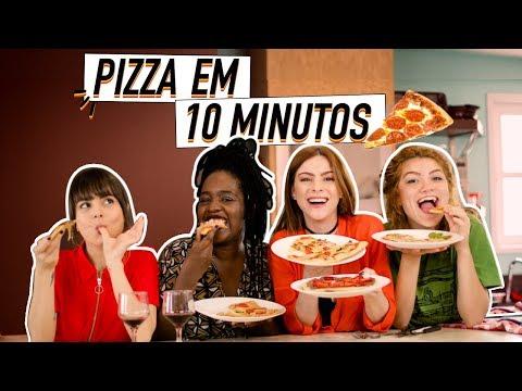 DIY :: Pizza Caseira super fácil! #cozinhandocasmiga