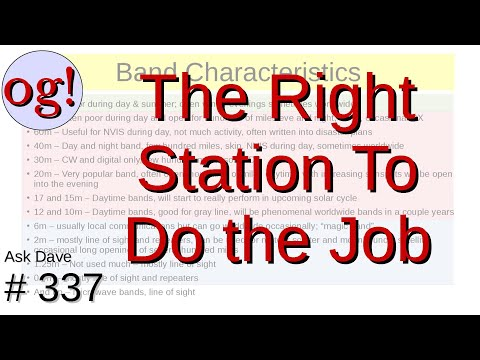 The Right Station for the Job (#337)