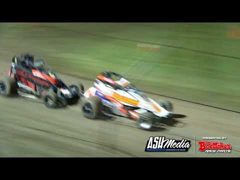 Wingless Sprints: A-Main - Lismore Speedway - 24.04.2021 - dirt track racing video image