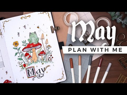Once Upon a... PLAN WITH ME | May 2021 Bullet Journal Setup