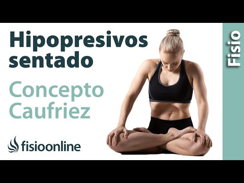 Aprende a realizar ejercicios hipopresivos sentado. Caufriez Concept.