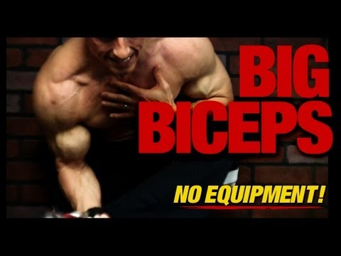 How to Get Big Biceps - IN THE HOME!! (Without Equipment!) - UCe0TLA0EsQbE-MjuHXevj2A