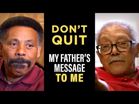 Tony Evans' Inspiring Message From His Father