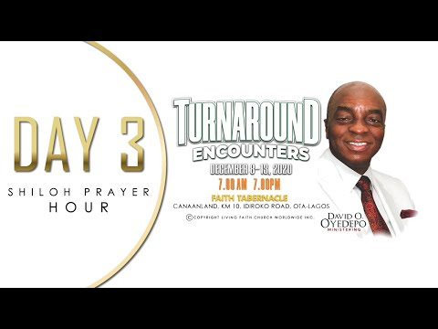 DOMI STREAM: SHILOH 2020  DAY 3  TURNAROUND ENCOUNTERS  SHILOH PRAYER HOUR