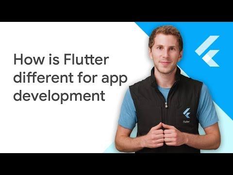 How is Flutter different for app development - UC_x5XG1OV2P6uZZ5FSM9Ttw