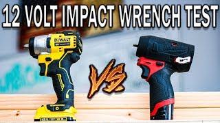 Dewalt 12v Max Xtreme Vs Milwaukee Tool M12 Fuel - Best Impact Wrench Tool Test