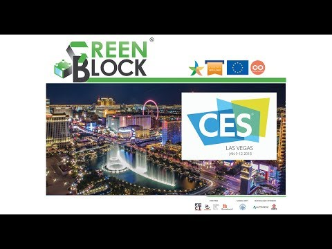 GREEN BLOCK at CES Las Vegas 2018