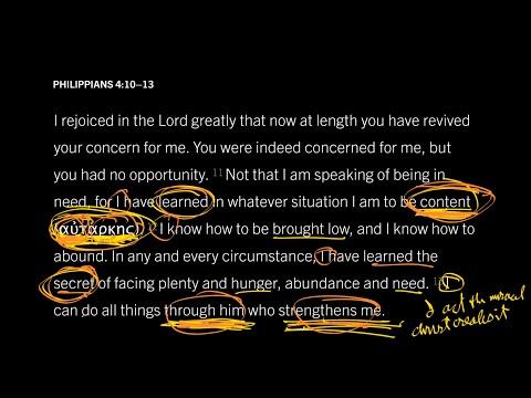 Philippians 4:1013 // Part 3 // How Does Self-Sufficiency Exalt Christ?