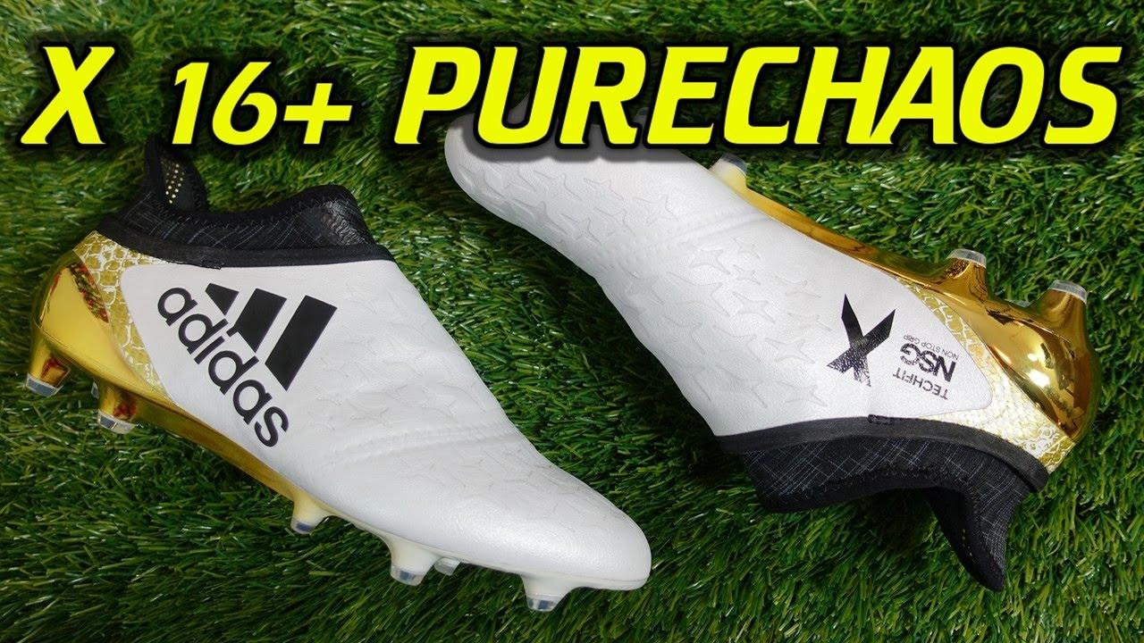 sale retailer 6e4d8 7c403 Adidas X16+ PureChaos (Stellar Pack) - Review + On Feet   f ...