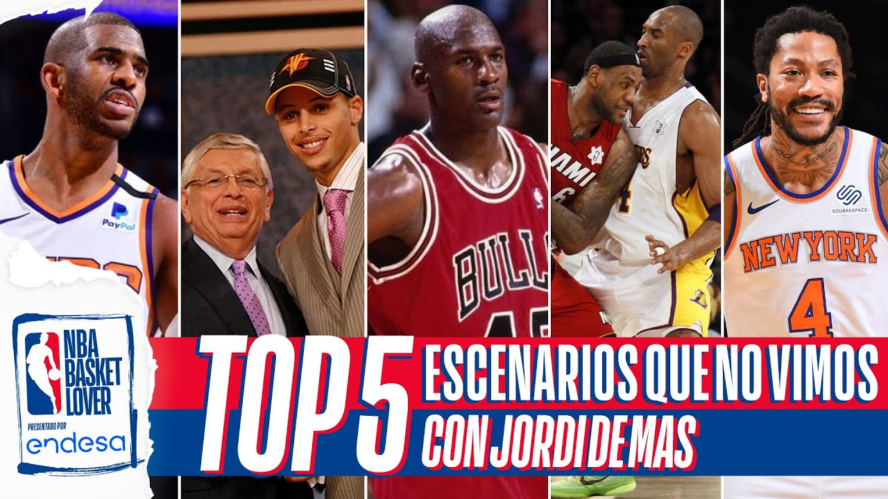 TOP 5 ESCENARIOS QUE PODRÍAN HABER PASADO EN LA NBA CON DEMAS6BASKET| #NBABasketLover