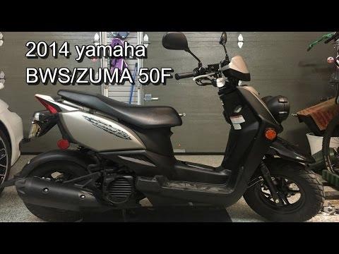 2014 YAMAHA ZUMA 50 F/ BWS REVIEW