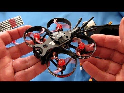 iFlight TurboBee 77R Brushless Micro Whoop FPV Racer Drone Flight Test Review - UC90A4JdsSoFm1Okfu0DHTuQ