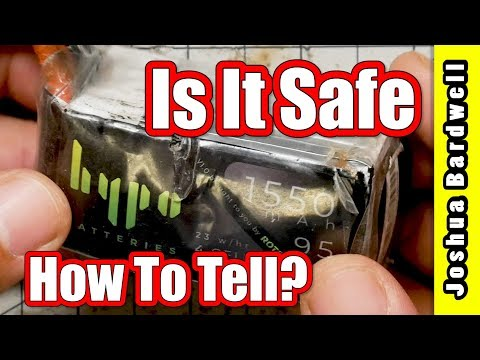 Is Your LiPo Safe To Charge | WHEN TO THROW IT OUT - UCX3eufnI7A2I7IkKHZn8KSQ
