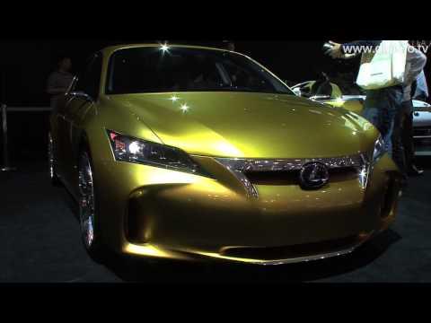 Lexus LF-Ch Premium Compact Hybrid Concept : DigInfo - default