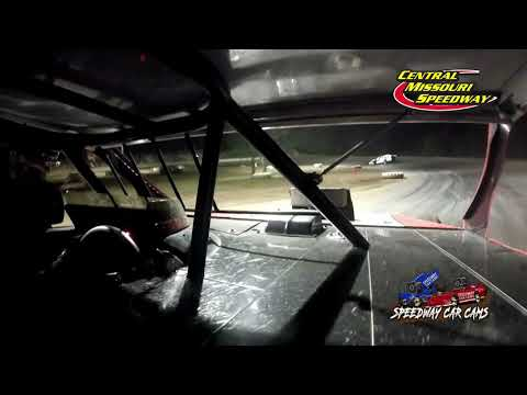 #75 Gunner Martin - A Modified - 6-19-2021 Central Missouri Speedway - In Car Camera - dirt track racing video image