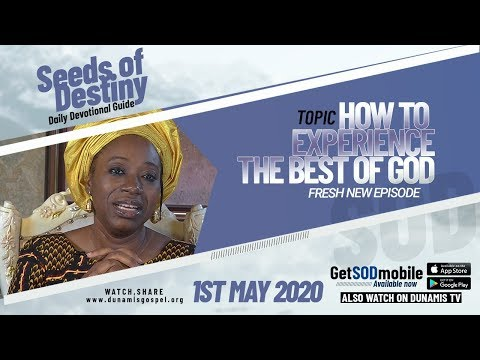 Dr Becky Paul-Enenche - SEEDS OF DESTINY  FRIDAY, 01 MAY, 2020