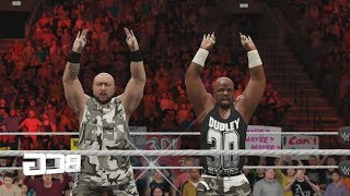 The History Of Dudley Boyz 3D SmackDown! 2 Know Your Role-WWE2K17 In WWEGames