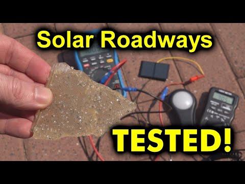 EEVblog #1276 - Solar Roadways Surface TESTED! - UC2DjFE7Xf11URZqWBigcVOQ