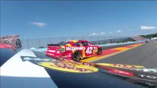 Full NASCAR In-car: Martin Truex. Jr. at Watkins Glen