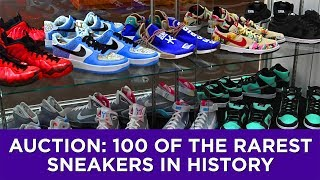 Auction: 100 of the rarest sneakers in history