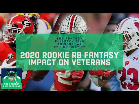 Which 2020 NFL Rookie RBs Will Have an Immediate Fantasy Impact? | Fantasy Football Podcast