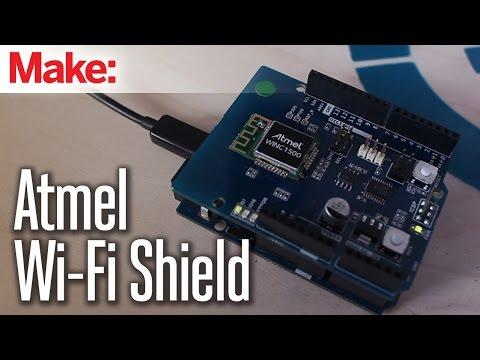 Atmel's New Wi-Fi Shield - UChtY6O8Ahw2cz05PS2GhUbg