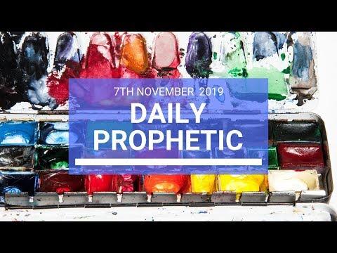 Daily Prophetic 7 November Word 2