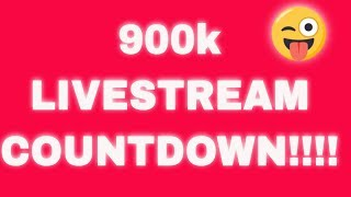 COUNTDOWN TO 900,000 Subscribers!