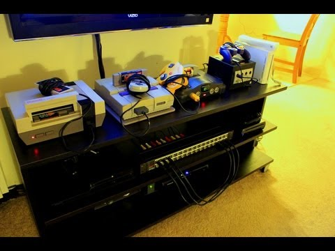 CNET How To - Make a video game console patchbay - UCOmcA3f_RrH6b9NmcNa4tdg