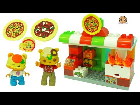 Pizza Restaurant - Fun Play Video with LEGO Duplo + Num Noms Toys - UCelMeixAOTs2OQAAi9wU8-g