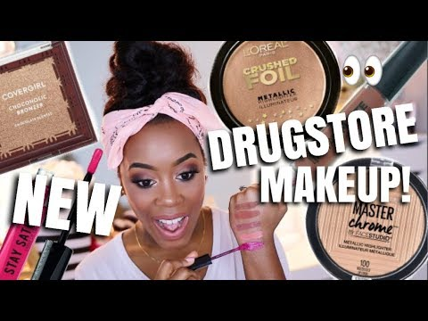 WHAT'S NEW AT THE DRUGSTORE? | WAL-MART & TARGET BEAUTY HAUL | Andrea Renee - UCSftBCRR75h89gHaMVa4v6Q