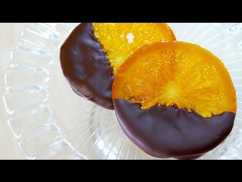 Chocolate Dipped Candied Orange Slices (Orangette) 輪切り オランジェット ギフト ラッピング Recipe
