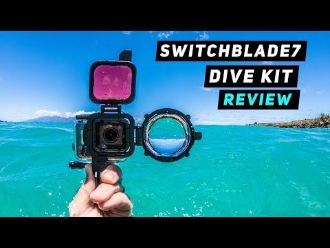 SwitchBlade7 Dive Kit for GoPro Hero5, Hero6 + Hero7 | MicBergsma - UCTs-d2DgyuJVRICivxe2Ktg