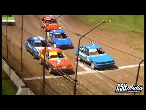RSA Junior Sedans: A-Main - Lismore Speedway - 09.02.2013 - dirt track racing video image
