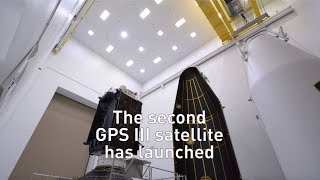 GPS III SV02 Mission Success