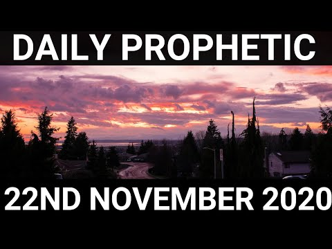 Daily Prophetic 22 November 2020 11 of 12