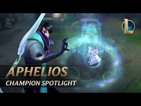 Aphelios Champion Spotlight   Gameplay - League of Legends
