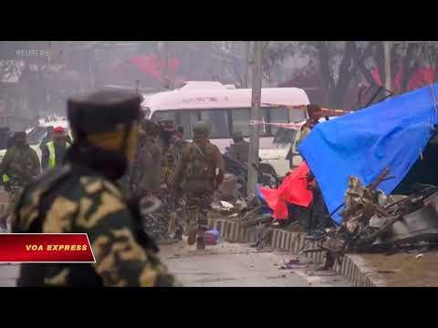 Ấn Độ quyết đáp trả vụ đánh bom ở Kashmir  (VOA)