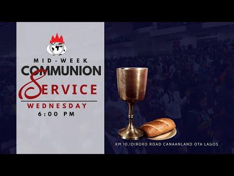 DOMI STREAM: MID-WEEK COMMUNION SERVICE  21, APRIL 2021.