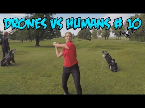Top 5 Drones vs Humans # 10 - UCnHw9ffrVUHlLTQkq3FVPeg