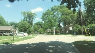 Driving to Sterling Heights, Michigan from Grosse Pointe Woods, Michigan